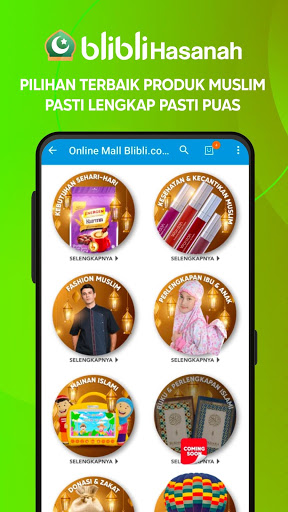 Screenshots Blibli Online Mall 7.0.5 6